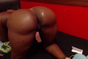 Fucking Thick African MILF Big Booty ANAL Show 1 of 2.
